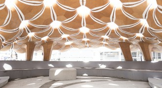 ICD/ITKE Research Pavilion won 2017 ArchDaily BUILDING OF THE YEAR Award